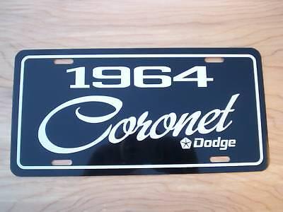 1965 Dodge Coronet  license plate car TAG 65 Mopar Performance Car