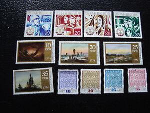 Germany-Rda-Stamp-yt-N-1630-A-1633-1639-A-1647-Obl-Stamp-Germany