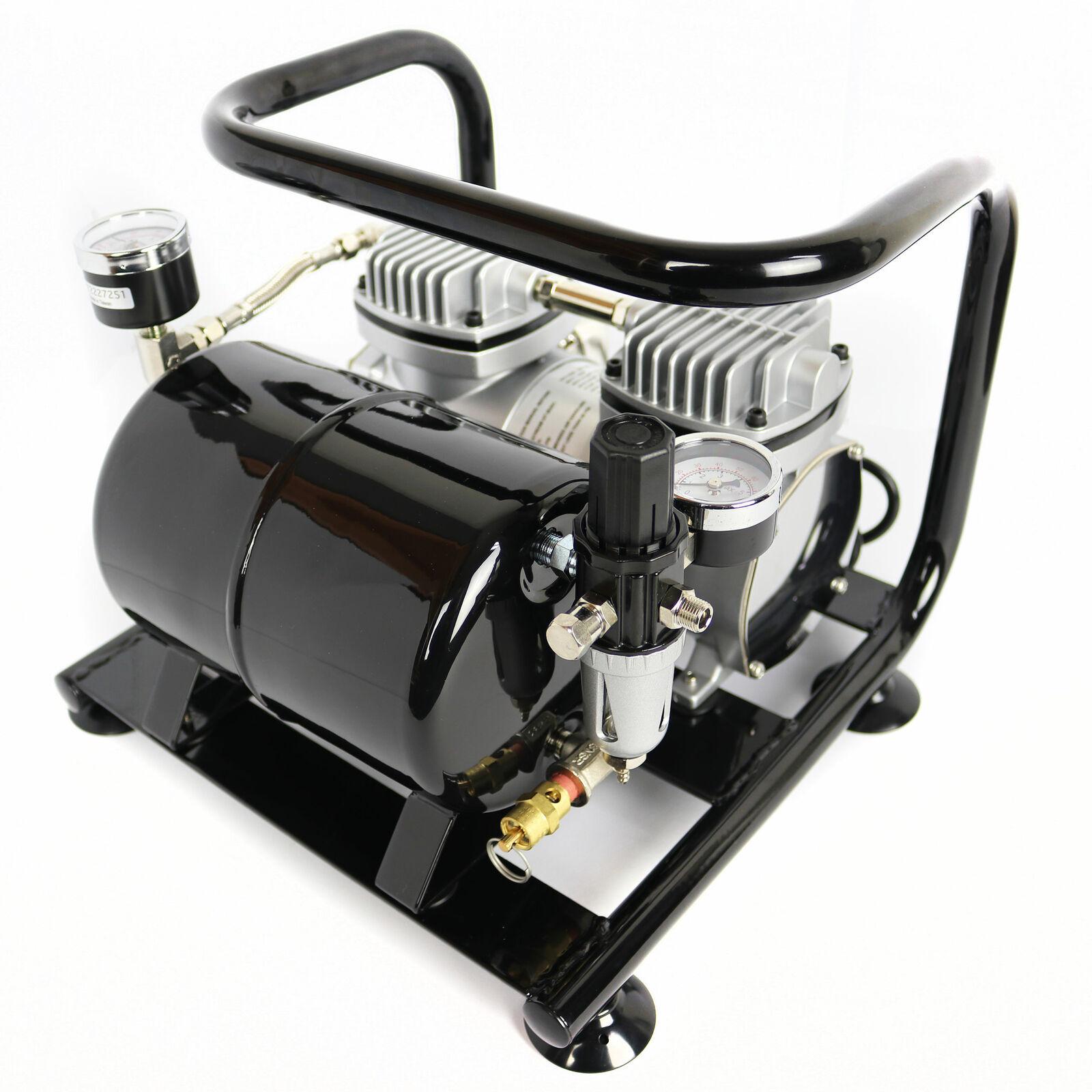 Kompressor Airbrush Sparmax AC-55 Black edition Druckluft Kompressoren