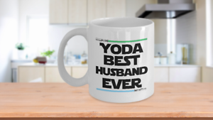 Image Is Loading Yoda Best Husband Birthday Gift Mug Nerd Star