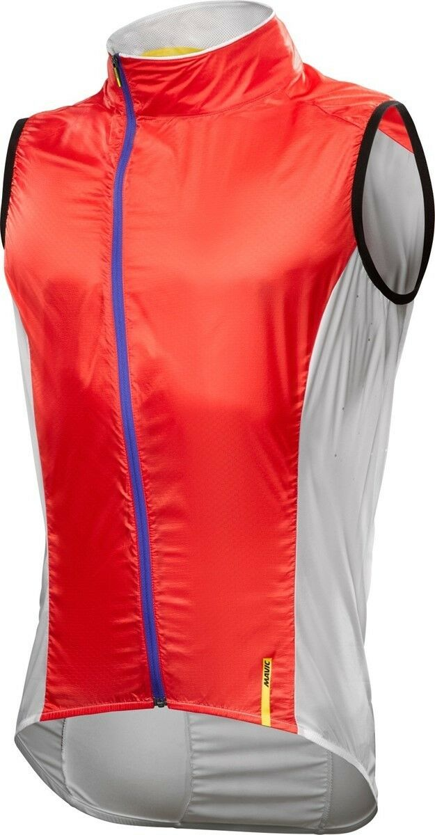 Mavic Cosmic Pro Cycling Vest - Size Large M - Racing Red & White