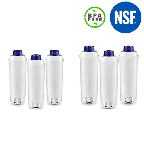 2-6 Wasserfilter Filter DLSC002 für DeLonghi EC820 EC840 EC850 EC860 ECAM 21.117