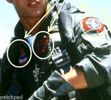 HALLOWEEN FANCY DRESS PROP TOP GUN FLIGHT SUIT νeΙcrο 3-SSI AVIATOR MAVERICK SET