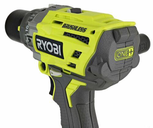 Ryobi P251 One 18V Lithium Ion 750 Inch Pound Brushless Hammer Drill Driver