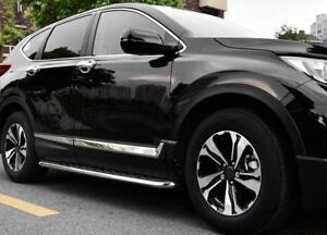 For-HONDA-CRV-2017-2018-ABS-Chrome-Car-Side-Door-Body-Trim-Molding-Protector