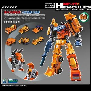 Transformation-MF-17-HERCULES-DEVASTATOR-Figure-Mech-Fans-Toys-Set-6-In-1-Robot