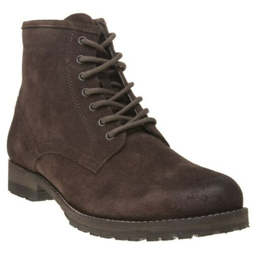 Tape Suede Lace Boots Mens Red New Chukka Up Toft Brown w8axnEBXq