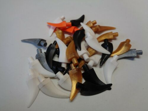 87747 Lego accessory polybag horn claw animal claw horns choose color