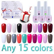 Ukiyo Any 15 Colors 8ml Soak Off Gel Polish 10Pcs Free Gel Remover Need Top Base
