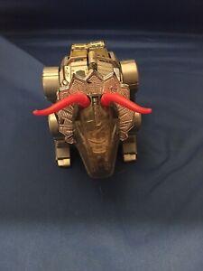 Vintage Transformers G1 Slag Dinobot Triceratops Dinosaur Hasbro 1984