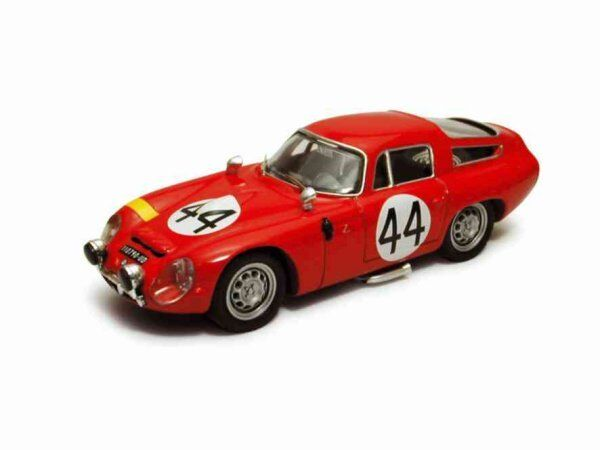 Alfa romeo tz 1   44 20. le - mans - 1965 koob   finkelstein 1 43 modell Besteen modelle