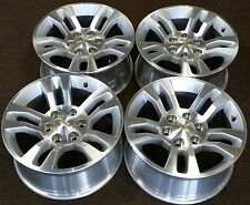 "18"" CHEVY SILVERADO 1500 SUBURBAN TAHOE FACTORY OEM ALLOY WHEELS RIMS 2014-2016"