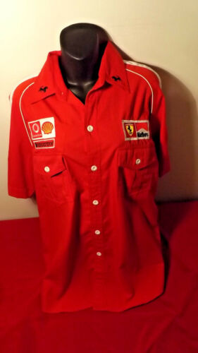 FERRARI OFFICIAL PIT SHIRT IN LIKE NEW CONDITION SIZE XL