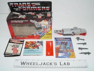 Broadside Mib 100% complet 1986 Transformateurs Hasbro Vintage Action Figure G1