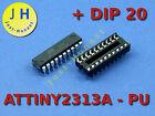 ATTINY 2313 A mit/ohne DIP20 Sockel/Socket Mikrocontroller, Microcontroller, AVR