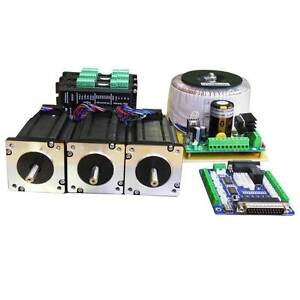 Digital-3-Axis-Driver-kit-3Nm-Stepper-motor-driver-kit-for-CNC
