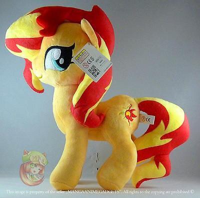 """Sunset Shimmer plush doll 12""""/30 cm My Little Pony Sunset Shimmer  UK Stock"""