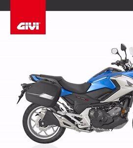 Honda Nc750x 2016 Givi Tst1146 Pannier Rack St604 Sport T Sidecase