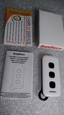 Telecommande Porte de Garage BALLAN TMX  433.92MHz 3 Boutons  Notice et pile