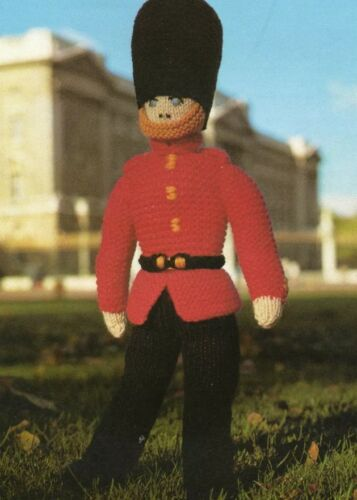 Guard Knitting Pattern Queens Celebration  Soldier