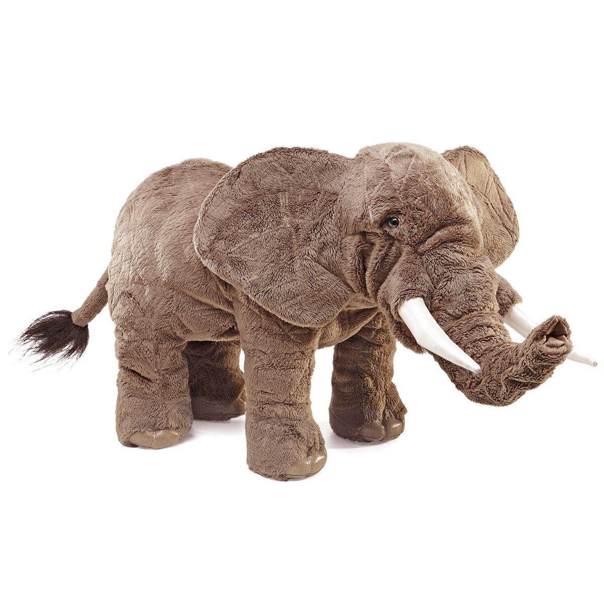 Hand Puppet - Folkmanis - Elephant New Animals Soft Doll Plush Toys 2534