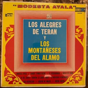 LOS-ALEGRES-DE-TERAN-amp-LOS-MONTANESES-DEL-ALAMO-MODESTA-AYALA-MEXICAN-LP-NORTE