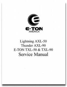 Eton rascal ixl-40 service manual.