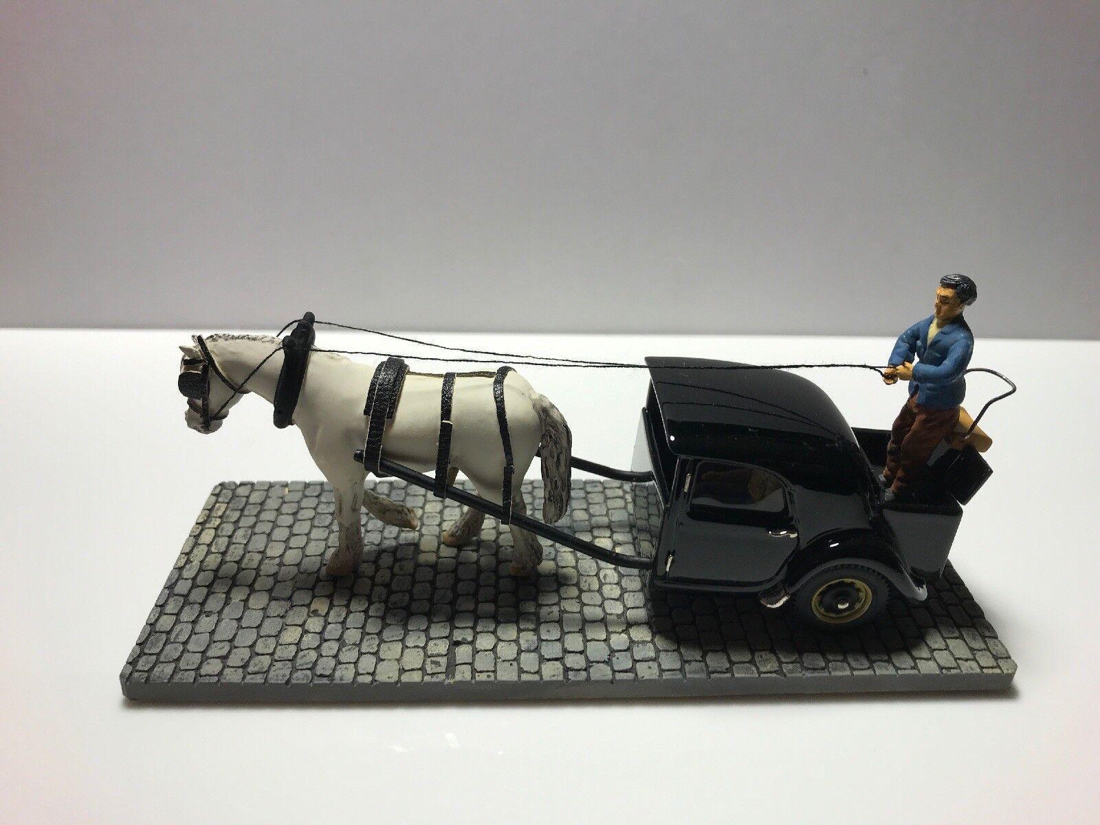 1 43 Scale Resin Model. 1944 Citroen Traction cut in half horse drawn.