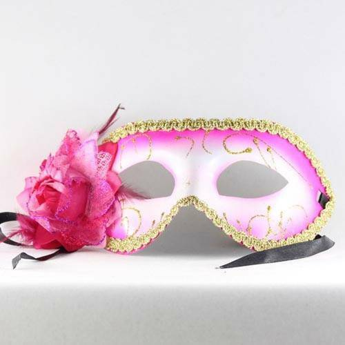Mardi Gras Venetian Flower Masks- FREE SHIPPING 6 colors For any Party