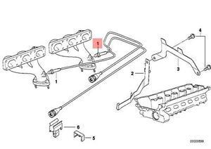 Lambda sensor oxygen O2 exhaust probe 4 wire 370mm fits BMW E31 E36 E38 E39 E46