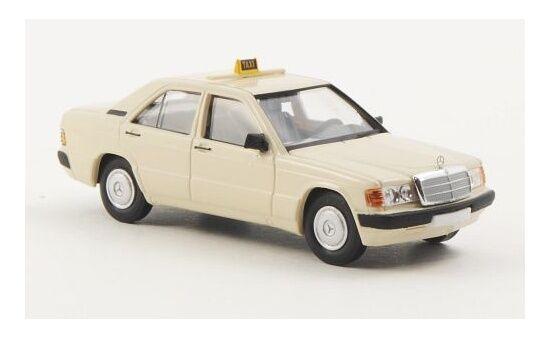 """#13209 - Brekina Mercedes Benz 190 D """"Taxi""""  - 1:87"""