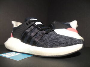 promo code 43825 a2261 Image is loading ADIDAS-EQT-SUPPORT-93-17-CORE-BLACK-TURBO-