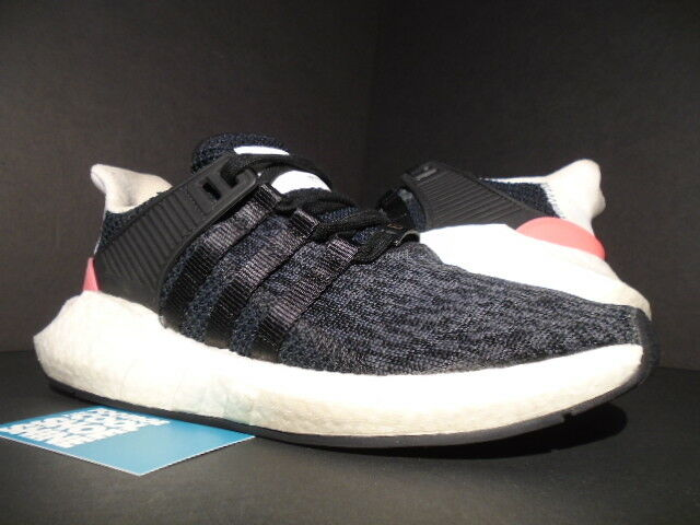 huge discount adc08 f8a68 adidas EQT Support 93/17 Core Black Turbo Pink White Ultra Boost Bb1234 NMD  8.5