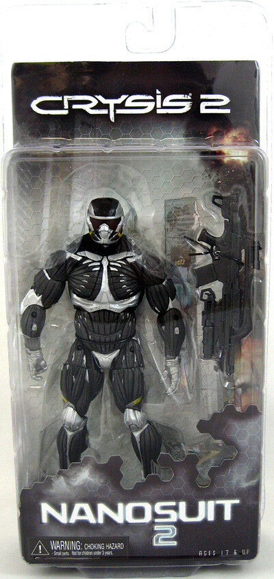Crysis 2 7 Inch Action Figure Video Game Series - Nanosuit