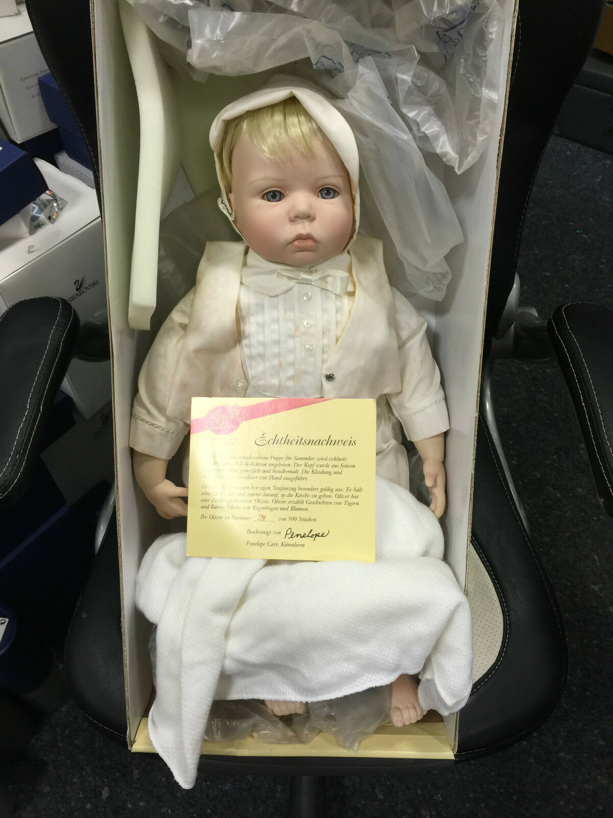 Penelope Carr muñeca Oliver 51 cm edición limitada