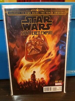 JOURNEY STAR WARS FORCE AWAKENS SHATTERED EMPIRE 4 DISPOSABLE HEROES VARIANT