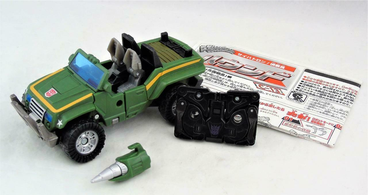 Transformers Henkei Classics Deluxe Class Hound Complete