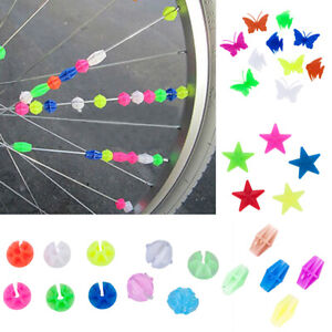 Children-Kids-Bicycle-Bike-Wheel-Plastic-Spoke-Bead-Clip-Colored-Decoration-CHI