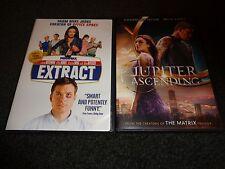 EXTRACT & JUPITER ASCENDING-2 DVDs-MILAS KUNIS, JASON BATEMAN, CHANNING TATUM