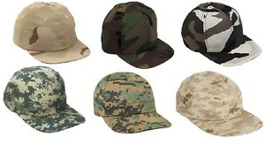 Image is loading Kid-039-s-Camo-Baseball-Caps-Adjustable-Toddlers- 63c0d09581e