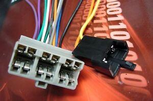 Chevy oem stock radio wire harness plug up ebay