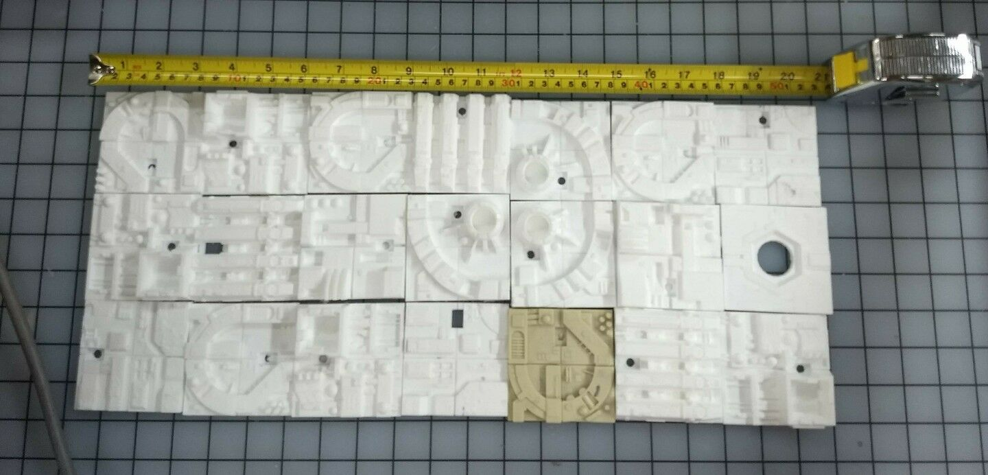 30 piece 1 72 resin resin resin death star wars tiles for bandai and fine molds diorama lots c3e945