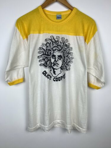 Vintage 1970's Alice Cooper Band T Shirt