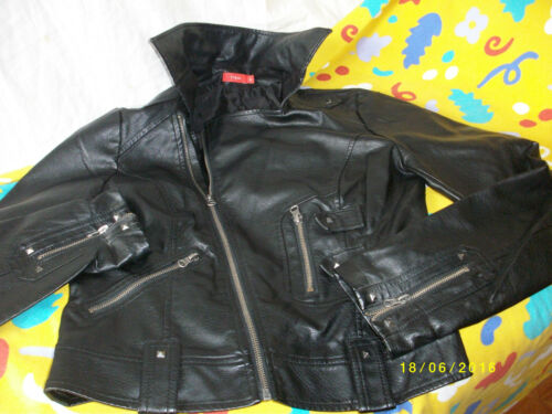in tissaia Giacca Jacket poliestere pelle Perfecto T in 38 8IxCr0w8q