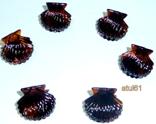 BLACK BROWN SHELL SMALL HAIR CLAW CLAMPS HAIR CLIPS HAIR GRIPS ACCESSORIES NEW