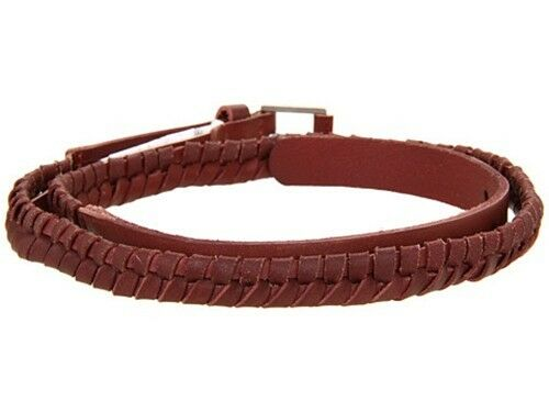 Oxblood C1978216-01 S Nixon Bent Slim Belt
