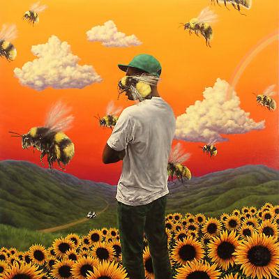 N880 Tyler the Creator Flower Boy Cover Album 24x24 20 Silk Poster