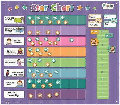 Ragionevole Fiesta Crafts Magnetico Extra Large Stella Grafico Educativo Per Bambini Giocattolo Bn-mostra Il Titolo Originale Domanda Che Supera L'Offerta