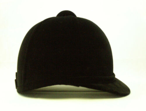 Adult Charles Owen Beagler Velvet Hat BlackNavy