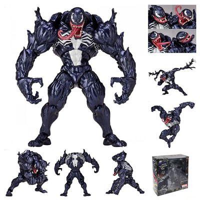 "6"" Venom Revoltech Marvel Spider Man PVC Action Figure Toys Collection Gift"